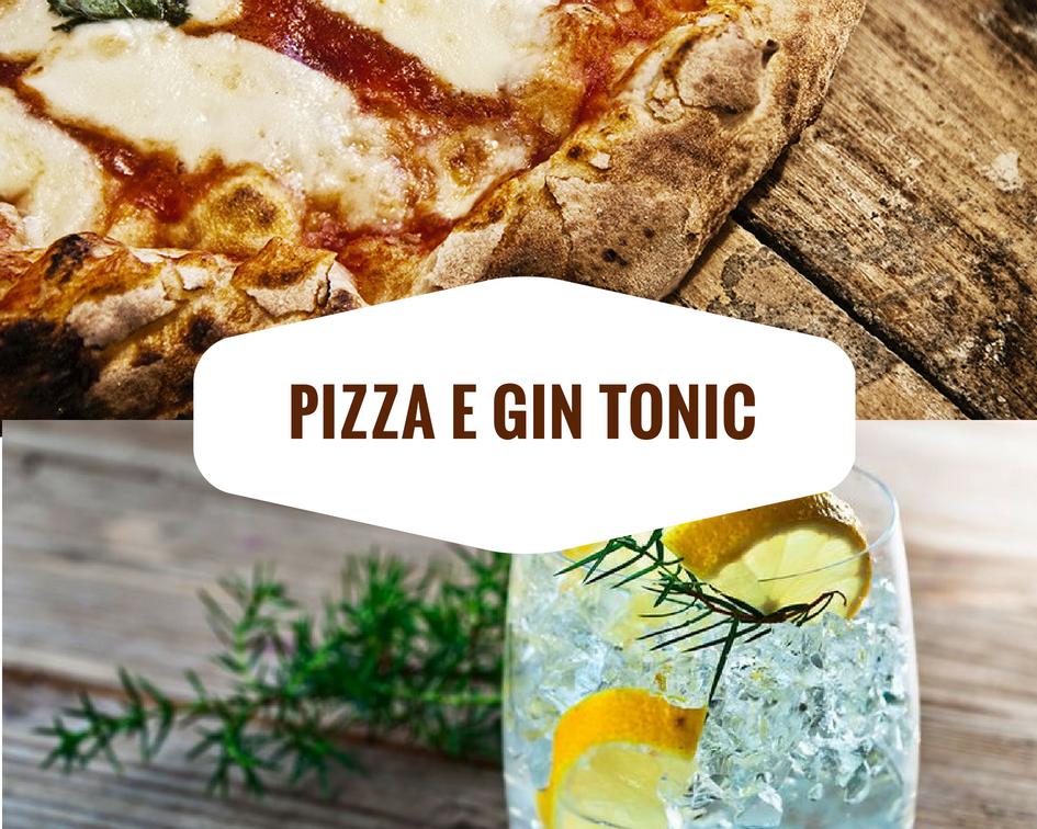 pizza gin tonic