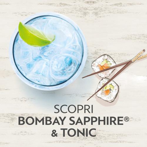 bombay sapphire e tonic