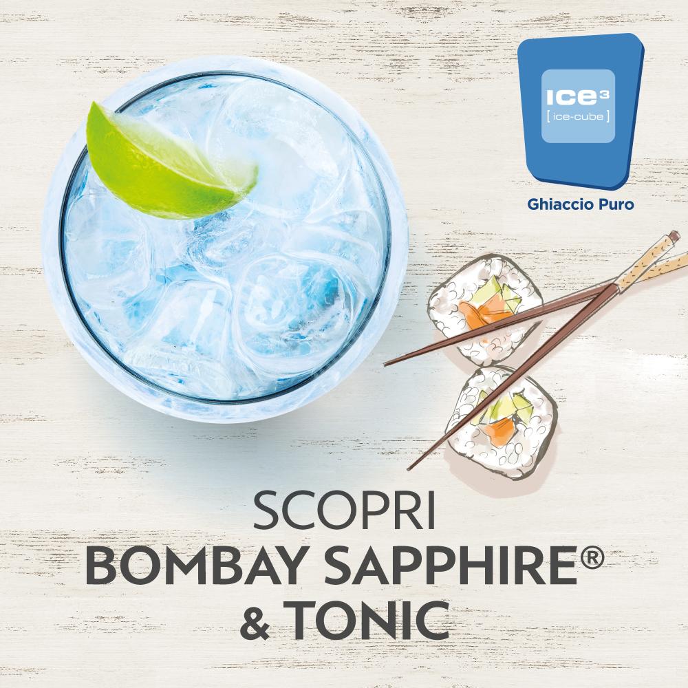 bombay sapphire tonic