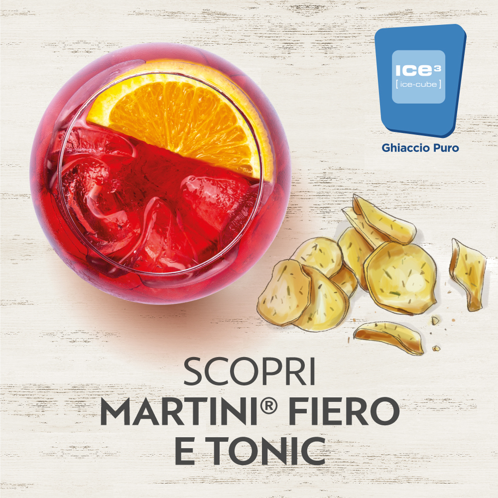 martini fiero e tonic