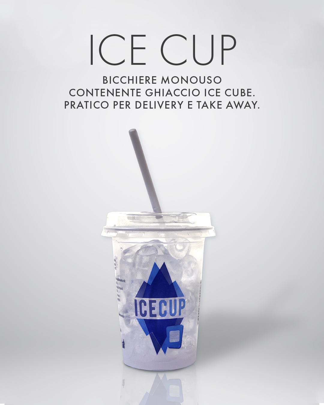 Ice Cup bicchiere ghiaccio
